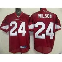 Buy cheap Reebok NFL Jerseys Arizona Cardicals 24 Wilson Red from wholesalers