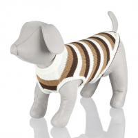 Buy cheap Striped Pet Sweater Pullover with Ribbed Neck (GR 1595) from wholesalers