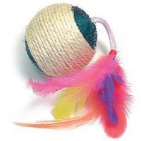 Buy cheap Sisal Ball with Rattle & Feathers(CT 2012) from wholesalers