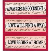 Buy cheap 4602 - WOODEN PLAQUE