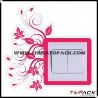 Sticker Series Product Name:Custom Flowers Switch Sticker TP-WS824