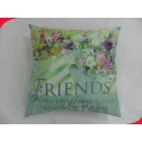 Wholesale 1616 Inches Square 100% Cotton Zipper Brushed Polyester Decorative Pillow Fabric from china suppliers