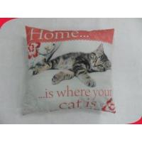 Wholesale 17x17 Inches Polyester Beautiful Decorative Pillow Fabric with Heat Transfer Printing from china suppliers