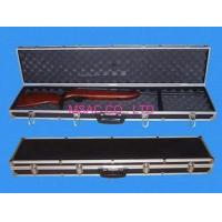Wholesale Black Padded Aluminum Gun Cases / ABS Carry Cases With Combination Lock from china suppliers