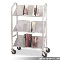 Wholesale V type RCA-3S-LIB05 book cart from china suppliers