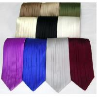 Wholesale Silk Pleated Tie - 8 Colors from china suppliers
