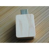 Wholesale square wooden slide usb flash drive gifts from china suppliers