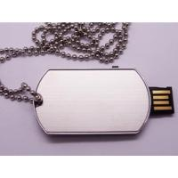 Wholesale metal dog chain slider usb flash drive from china suppliers
