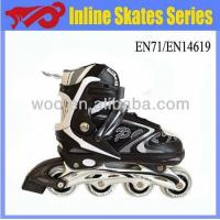 Wholesale kids adjustable inline skates with lights from china suppliers