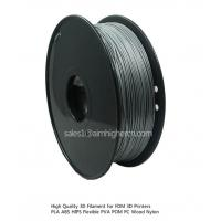 Wholesale HIPS filament Silver color 1.75/3.0mm from china suppliers
