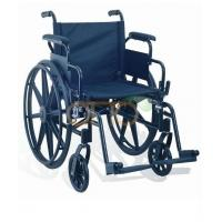 Buy cheap Rehabilitation Equipment Deluxe Aluminum wheelchair from wholesalers