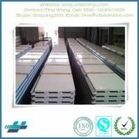 Wholesale good quality prepainted steel EPS sandwich panel for prefab building from china suppliers