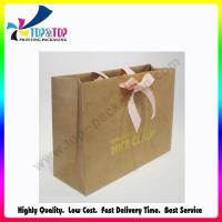 Wholesale Hot Stamping Kraft Logo Bag from china suppliers