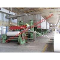 Wholesale Writing Paper Making Line 1575-4800 from china suppliers