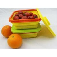Food-grade silicon food containers Easy store Easy carry Easy wash food storage container