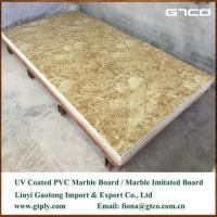 Wholesale UV coated PVC marble texture sheet for wall panel from china suppliers