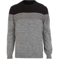 Buy cheap Man MP200102015-03-15 MP20010 Man Cottonfields'Colorblock Sweater from wholesalers