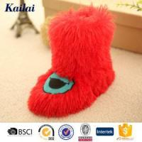 Wholesale Baby Shoes Embroider Pv Plush Child Shoes from china suppliers