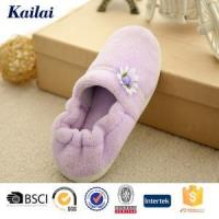 Buy cheap Casual Shoes Coral Fleece Flower Warm Shoes from wholesalers