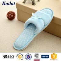 Buy cheap Slippers Coral Fleece Bowknot Open Toe Slipper from wholesalers