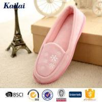 Buy cheap Dance Shoes Suede Fabric Embroidery Dance Shoes from wholesalers