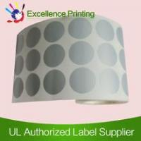 Wholesale PET adhesive silver sticker from china suppliers
