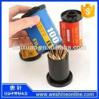 Wholesale Plastic Film Novelty Toothpick Holder / Promotional Toothpick Box Dispenser from china suppliers