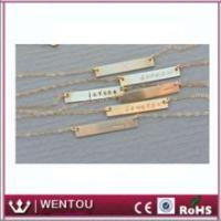 Wholesale Personalized Friend Gift Nameplate Necklace from china suppliers