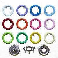 Buy cheap Various Colors Ring Snap Button for Babies Wear from wholesalers