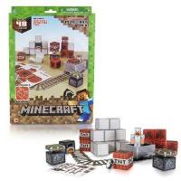 Wholesale Minecraft Papercraft Minecart 48 Piece set from china suppliers