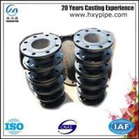 Wholesale 100% Water Pressure Test Ductile Iron Double Flanged Short Pipe Cement Mortar Lining from china suppliers