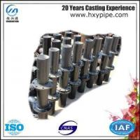 Wholesale 100% Water Pressure Test Ductile Iron Cement Mortar Lining Flanged Spigot from china suppliers