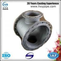 Wholesale BS EN 545 Ductile Iron All-Flanged Cross Cement Mortar Lining from china suppliers