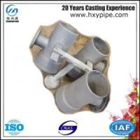 Wholesale BS EN598 Ductile Iron Socket Spigot Flanged Branch Cement Mortar Lining from china suppliers