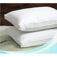 Down and feather filling pillow insert with high quality casing