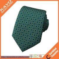 Wholesale Printed custom made silk ties from china suppliers
