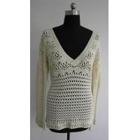 Buy cheap crochet ladies vest pattern Fashion Lady Crochet Vest Sweater from wholesalers