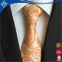 Wholesale best popular low moq 10 sunflower yellow man tie from china suppliers