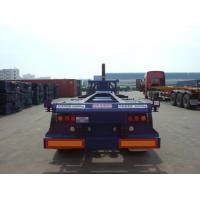 China 40ft Gooseneck Container TIpping Chassis on sale