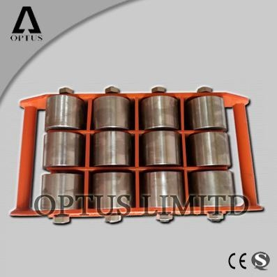 Quality carrying roller cargo trolley moving skate for sale