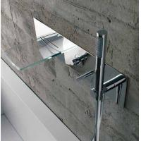Wholesale Wall Mounted Glass Waterfall Bath Shower Mixer from china suppliers