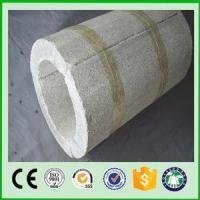 China Waterproof Acoustic Fire Resistant High Temperature Perlite Preformed insulation Pipes on sale