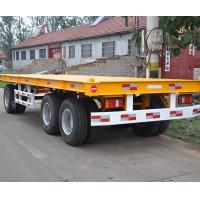 China 40ft Skeleton Container Semi Ttailer Long-term effective on sale