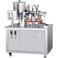 Buy cheap Semi Industrial High Capacity Paste Aluminum Tube Filler And Sealer Machine from wholesalers