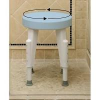 Getting Ready Home Rotating Round Shower Seat