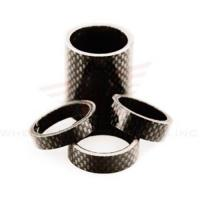 Wheels Manufacturing 1-1/8-inch Carbon Spacer (bag Of 5), 2.5mm