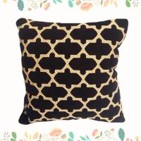 Quality New Fashionable Diamond Decorative Chair Cushion for sale