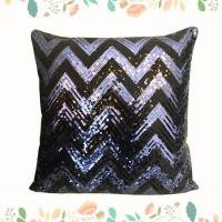 Buy cheap Wholesale Wave Thick Square Sofa Sequin Cushions Spangle Pillow from wholesalers