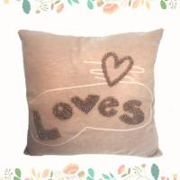 Buy cheap Hot Sale Latest Design LOVE Letters Household Cushion Sofa Meditation Pillow from wholesalers