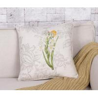 Buy cheap Country Style Daffodil Embroidery Decoration Pillow from wholesalers